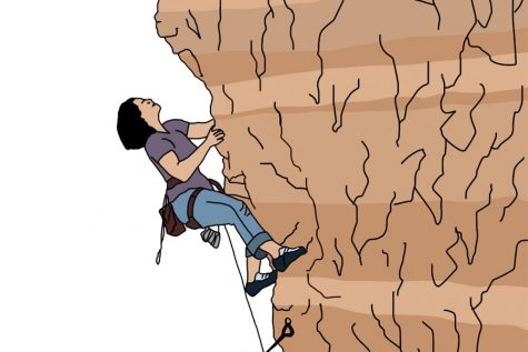"Tulane rock climbing club redefines ""cliffhanger"""