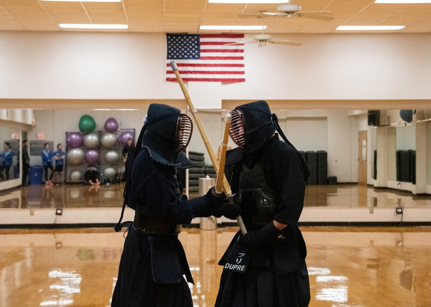 The Reily Center has introduced Kendo classes, to be held Sundays at 3 p.m.