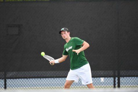 Men's tennis serves up perfection, heads to ITA tournament