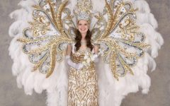 Don't reign on her parade: Student serves as Queen of Endymion