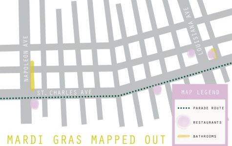 Mardi Gras mapped out