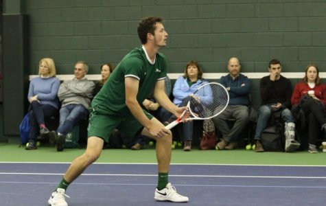 Men's tennis faces tough losses at national championships