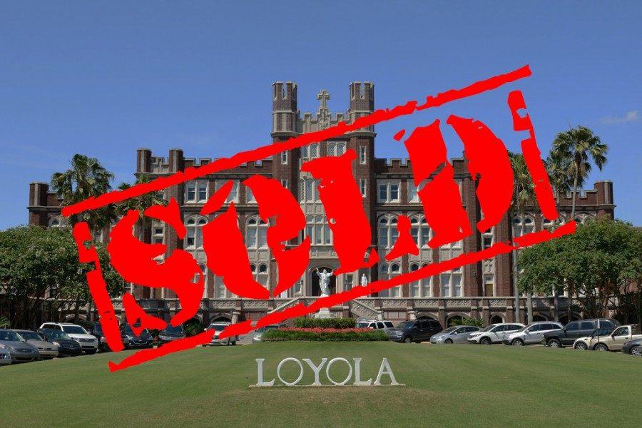 FULLABALOO: Tulane University buys neighboring Loyola University in effort to improve statistics