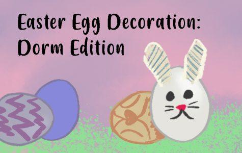Easter Egg Decoration: Dorm Edition