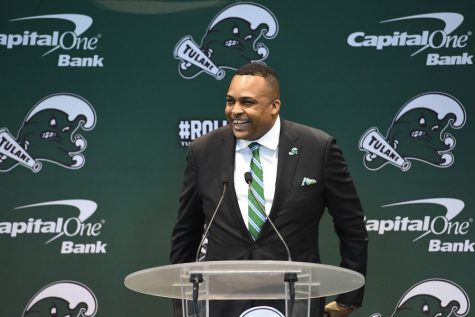 Ron Hunter announces his plans to make the Tulane men's basketball an NCAA champion team.