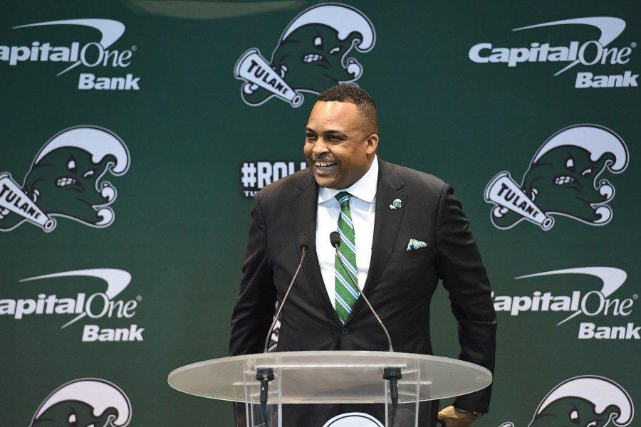 Ron Hunter announces his plans to make the Tulane men's basketball an NCAA champion team.