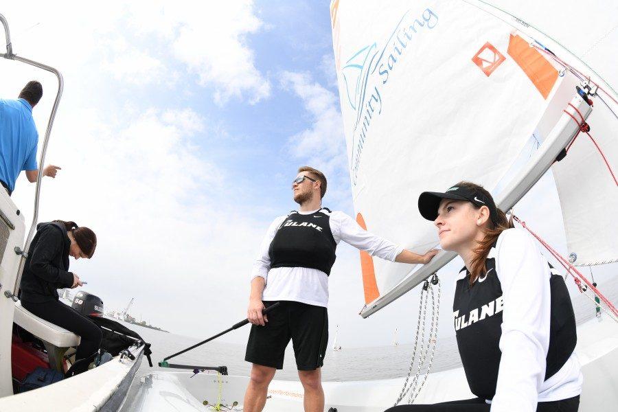 Seniors Sophie Ricker and Harris Cram had a successful weekend at last weeks regatta.
