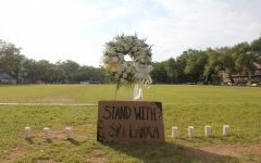 Tulanians honor lives lost in Sri Lanka bombings at campus vigil