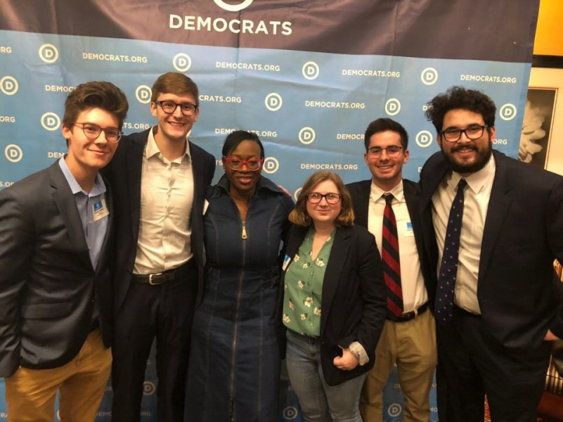 Members of College Democrats attended the Winter Convention in Raleigh, North Carolina.