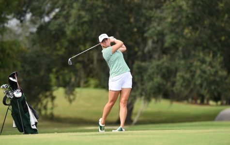 Women's golf falls in Clemson Invitational, looks to AAC Championship