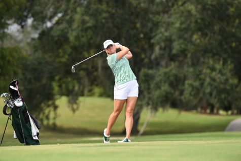 Junior Haydyn Gibson was among Tulane's top competitors at the recent Clemson Invitational Tournament.