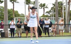 Women's tennis season ends at AAC championships