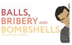 Balls, bribery, bombshells: 5 insane sports scandals