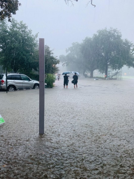 Campus flooded 7/10/19
