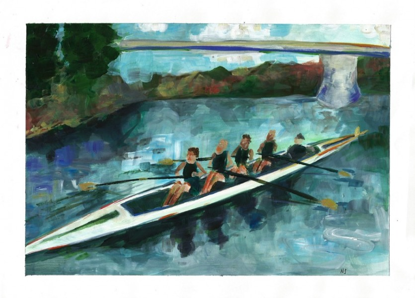 Men's club rowing finds success on the Mississippi