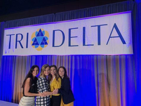 Tulane University welcomes new sorority Tri Delta to campus