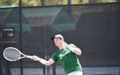 Men's tennis team serves early success