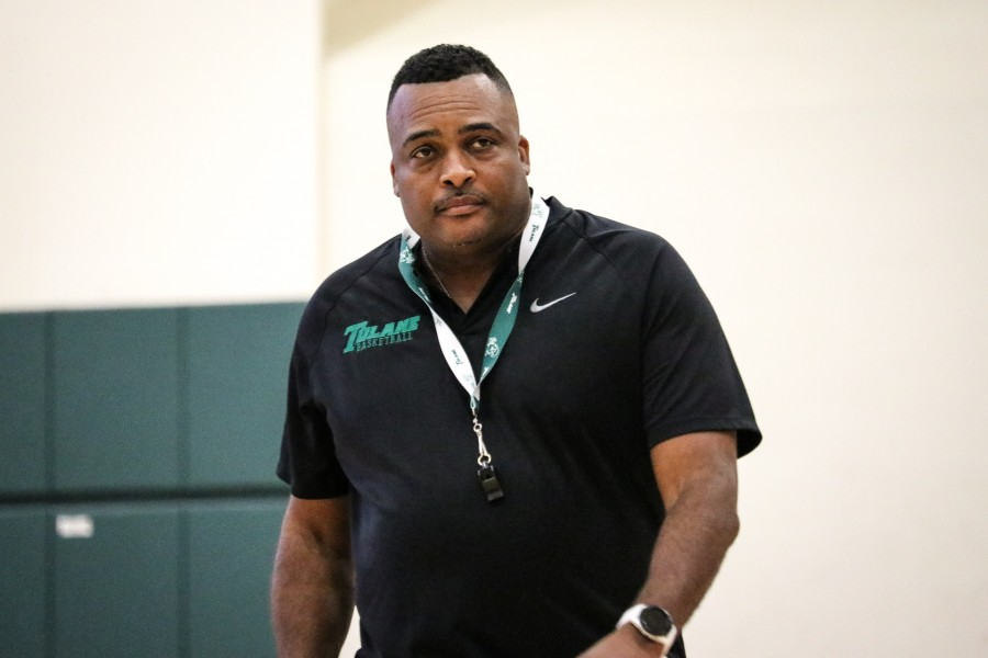 Ron Hunter will take the helm of the Tulane basketball program as head coach this season.