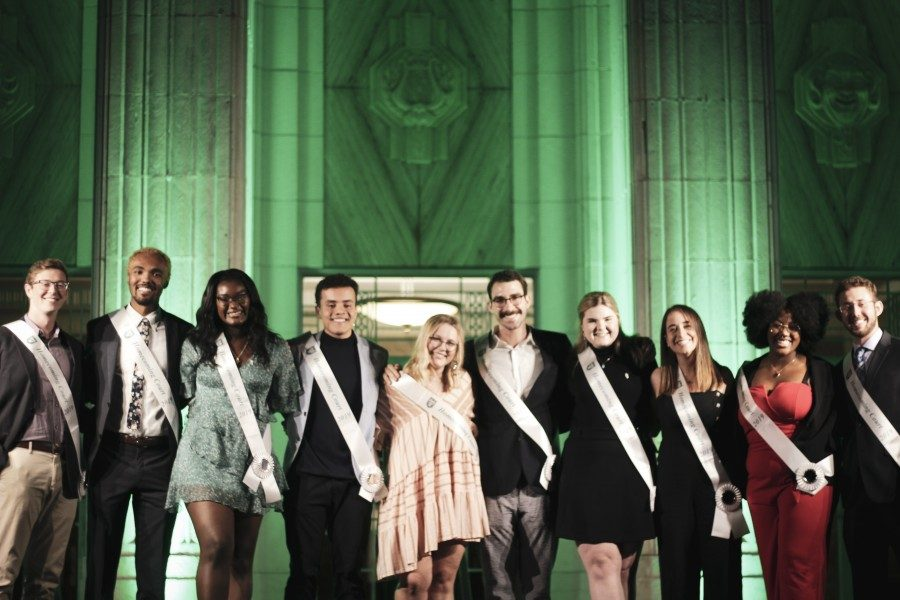 Tulane's 2019 homecoming court winners