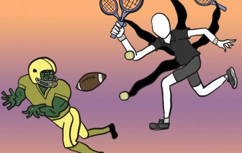 Spooky specters and spirits meet their match in the wide world of sports