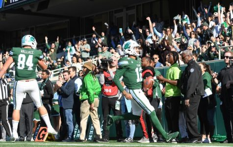 Tulane football team honors seniors in final home game of 2019