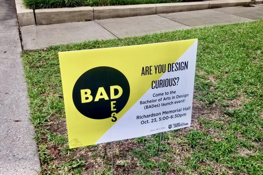 BADes major sign