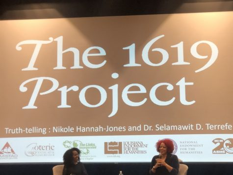 The 1619 Project being discussed at Conversations in Color