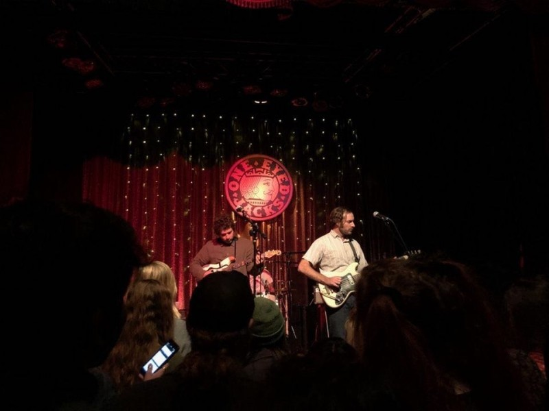 Indie-rock band Allah-Las brought upbeat performance to One Eyed Jack's on Sunday.