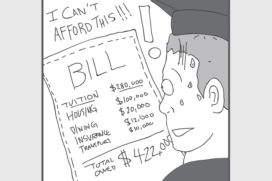 Skyrocketing tuition cannot be the norm