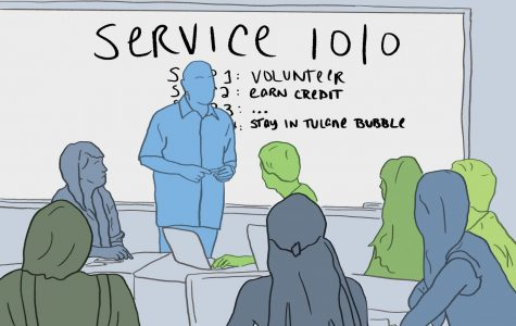 Tulane needs to change values behind service learning