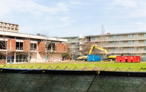 Noisy Bruff Commons demolition to bring new residence halls, dining options
