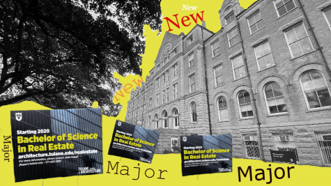 New real estate major to be introduced in fall 2020. Photo illustration by Hanson Dai.