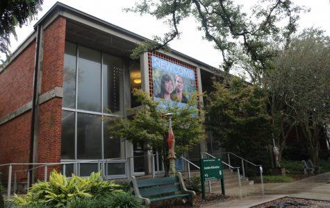 The Coronavirus talk was held in Caroline Richardson building. Photo by Hallie Olsen.