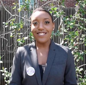 Deja Wells named Newman Civic Fellow