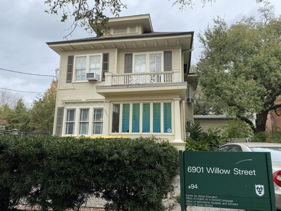 The Tulane Office of Study Abroad, located on Willow Street near PJs Coffee.