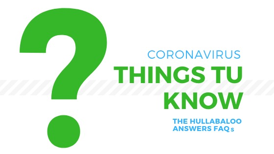 Things Tu Know: Coronavirus