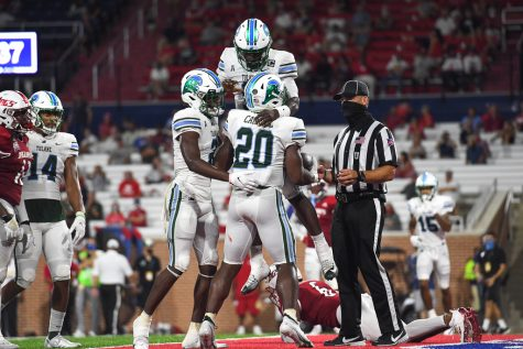 The Tulane Green Wave football team won its first game of the 2020 season 27-24 against South Alabama.