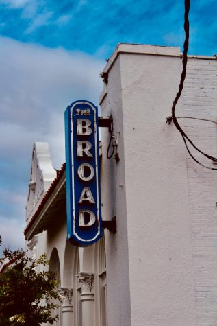 broad theater sign