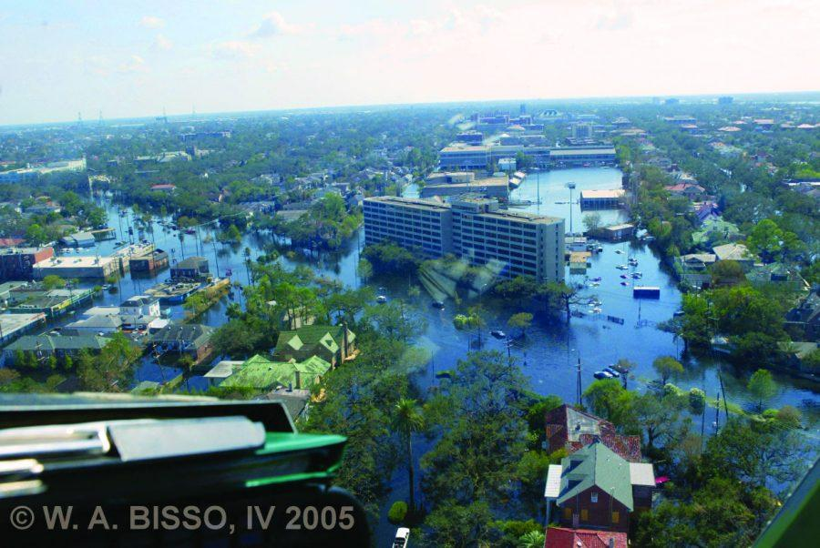 Tulane%27s+Uptown+campus+post-Hurricane+Katrina.+