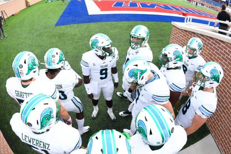 Tomorrow's game will be the Green Wave's first game against another AAC team this season.