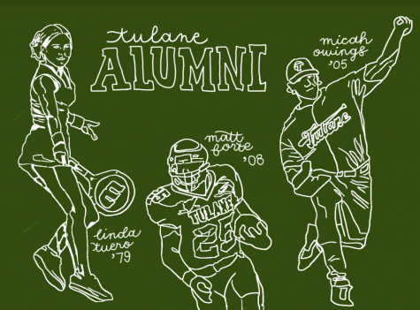 Tennis legend Linda Tuero, star running back Matt Forte, and two-way baseball player Micah Owings are some of Tulane's most notable athletic alumni.