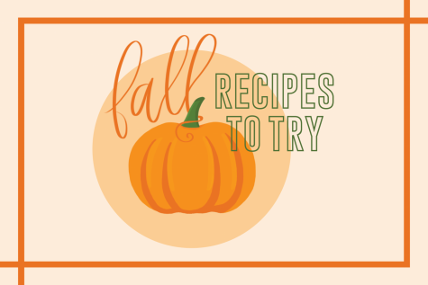fall recipes to try with an image of a pumpkin