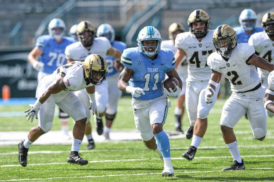 After routing Army 38-12 last weekend, the Tulane football team is on a three-game win streak.