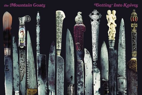 getting into knives album cover