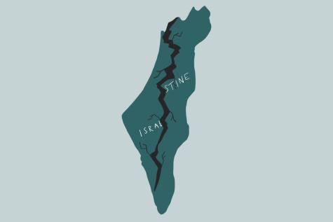 israeli/palestianin map split