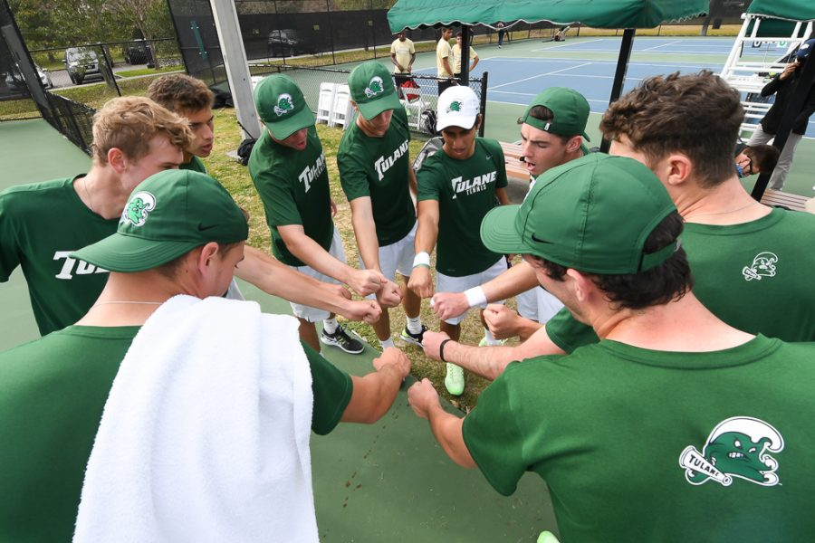 Tulane Men's Tennis (6-2) looks to continue their success.