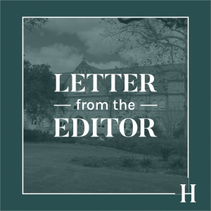 Letter from the Editor: Save The Hullabaloo