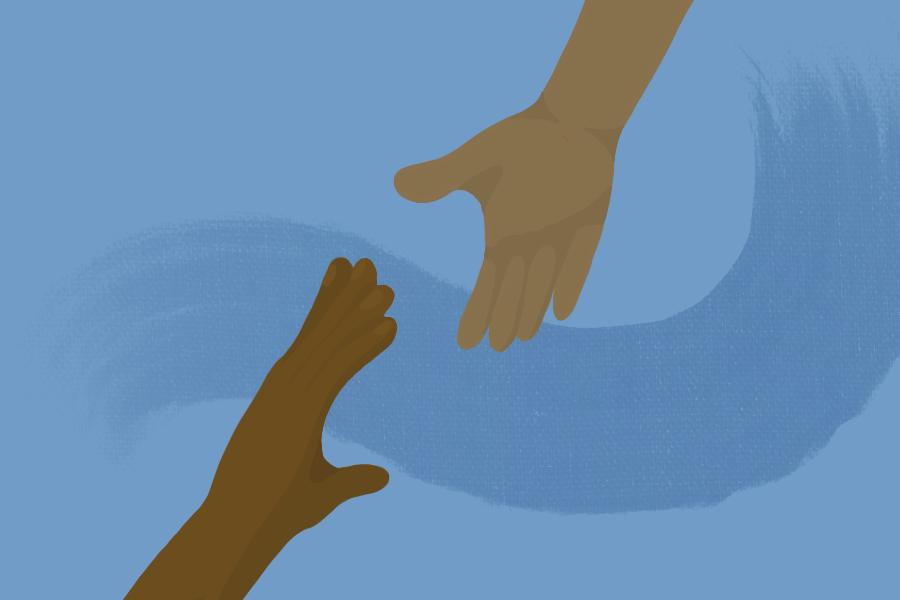 anti racism solidarity image