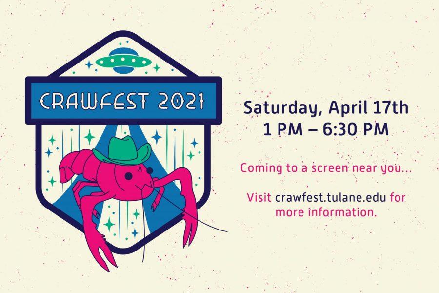 Crawfest integrates virtual programming