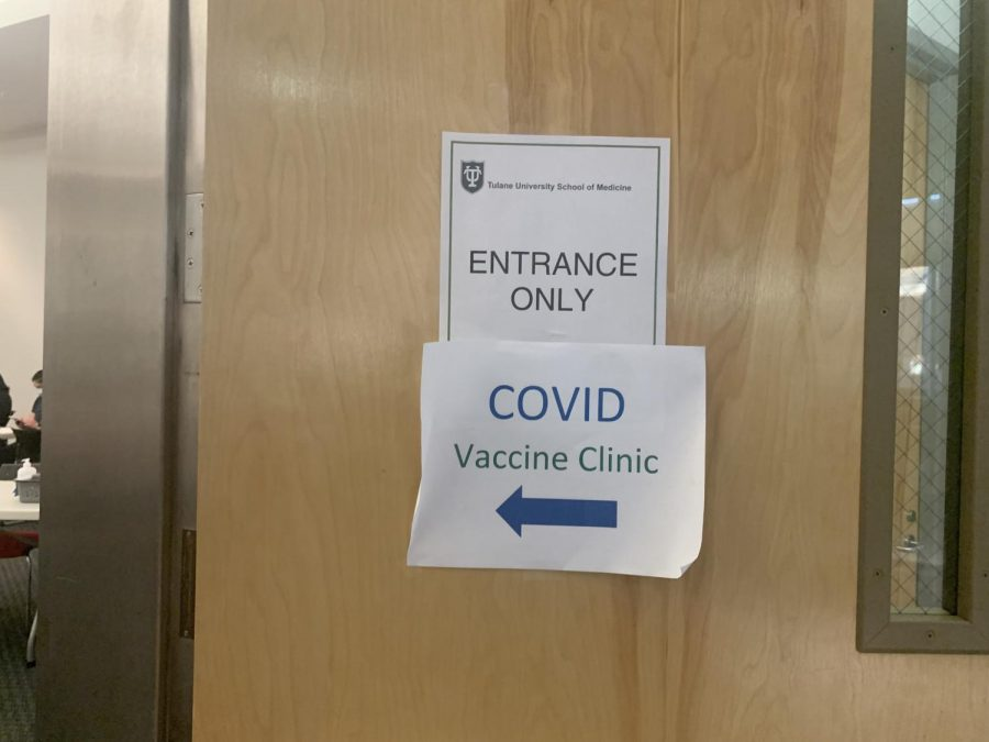 Tulane students continue to get vaccinated as eligibility expands